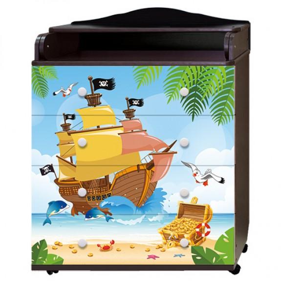 Комод Пираты (Ульяна2) венге