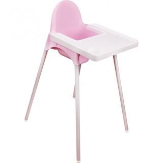 Стул для кормления (розовый)