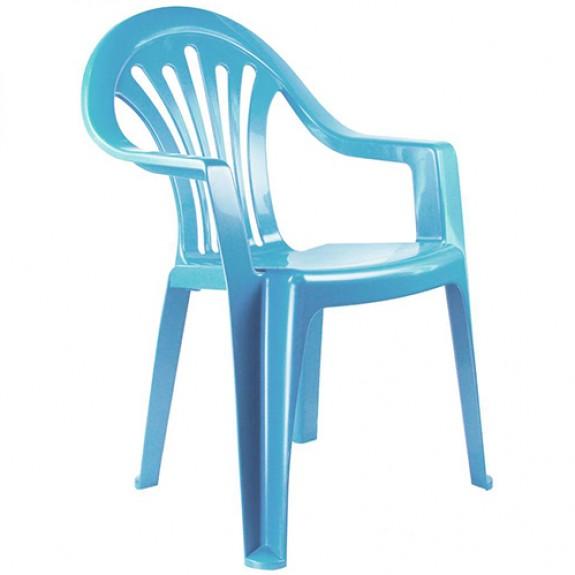 Кресло детское (голубое)