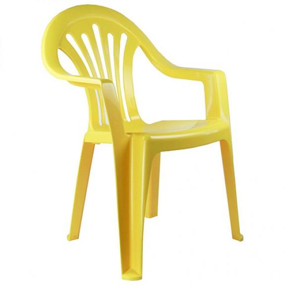Кресло детское (желтое)