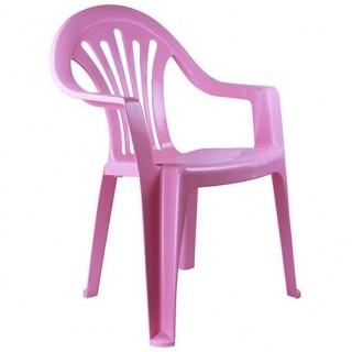 Кресло детское (розовое)