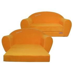 """Игровой диван """"Happy babby""""(оранжевый)"""