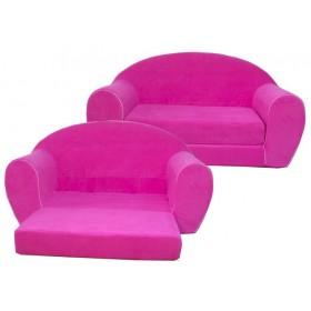 """Игровой диван """"Happy babby"""" (розовый)"""