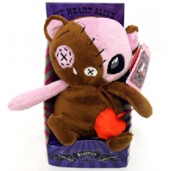 """Мягкая игрушка """"Медведь Живое Сердце"""""""