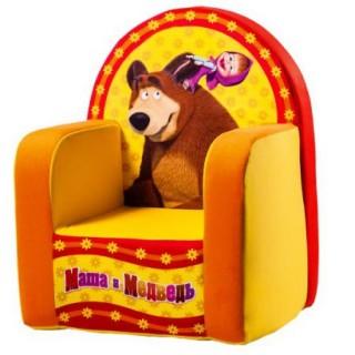 """Мягкое кресло """"Маша и Медведь"""""""
