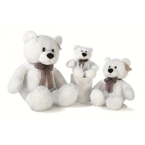 """Мягкая игрушка """"Медведь белый сидячий"""""""