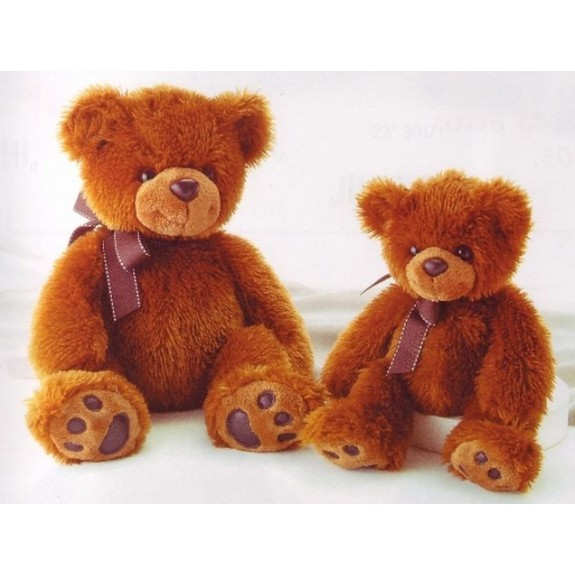 """Мягкая игрушка """"Медведь тёмно-коричневый"""""""