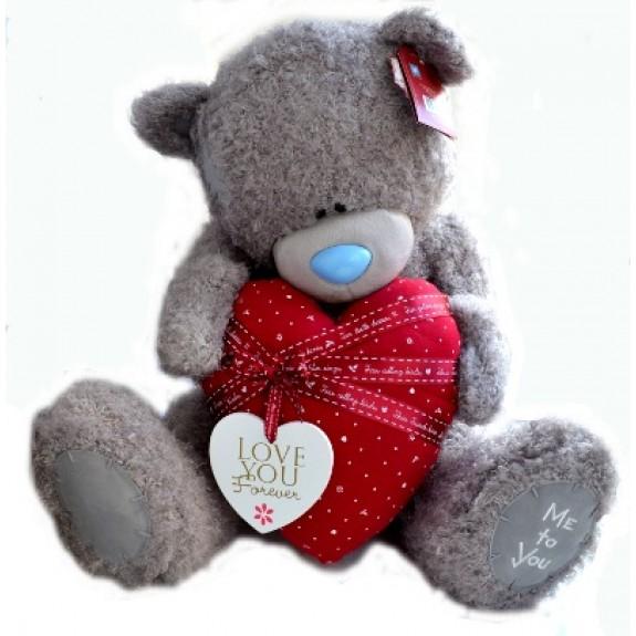 Мягкая игрушка Мишка Тедди Me To You - держит сердце - g01w3310