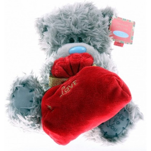 Мягкая игрушка Мишка Тедди Me To You - держит мешок Санты - g01w2752