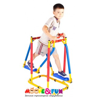 Детский тренажер Бегущий по волнам (Ходики) MOOVE & FUN SH-03