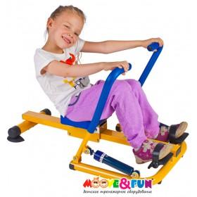 Детский гребной тренажер с двумя рукоятками MOOVE & FUN SH-04