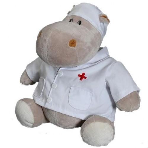 Мягкая игрушка Бегемот Любимый доктор