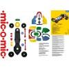 Конструктор mic-o-mic Машина гоночная 089.021