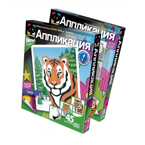 Аппликация Тигр