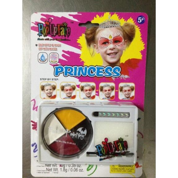 Краски для росписи лица Принцесса