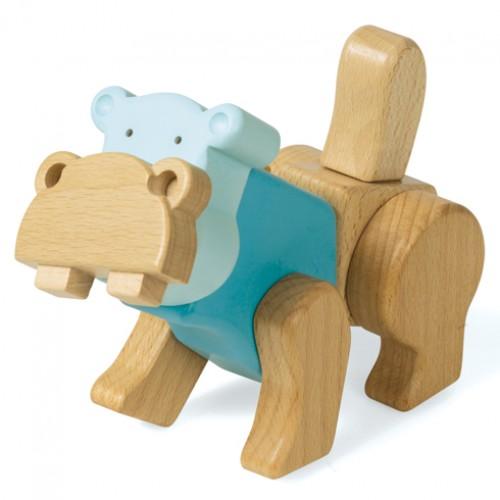 Конструктор Гиппопотам EQB ZOO-HIPPO