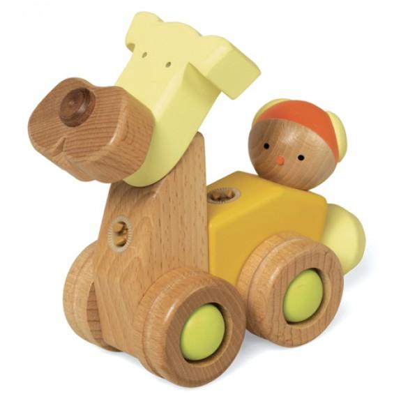 Конструктор Щенок EQB CAR-PUPPY