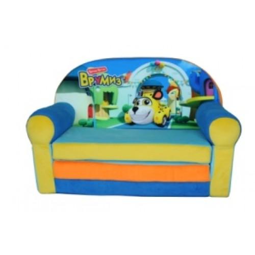 """Детский раскладной диван """"Врумиз"""""""