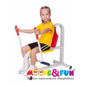 Детский тренажер Жим от груди MOOVE & FUN MF-E06
