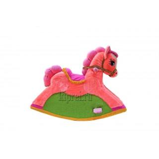 """Качалка """"Розовая лошадка"""""""