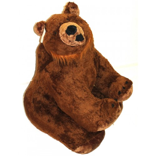 "Мягкая игрушка ""Настоящий Бурый Медведь"""