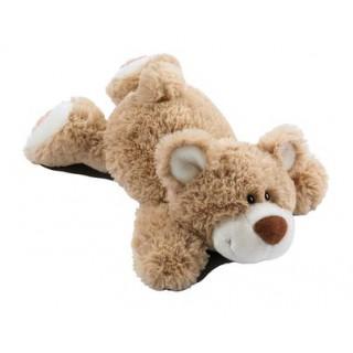 """Мягкая игрушка """"Медведь лежачий карамельный"""""""