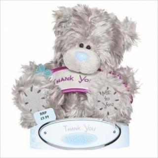 "Мягкая игрушка Медведь ""Me to You"" с плакатом ""Thank you"""
