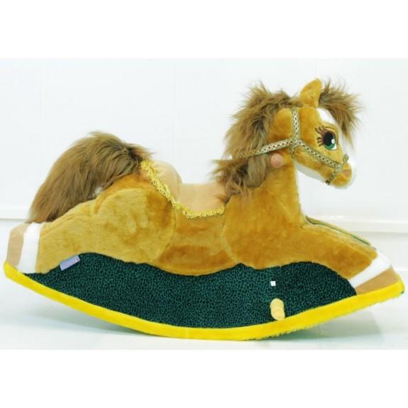 """Мягкая игрушка """"Лошадка-качалка"""""""