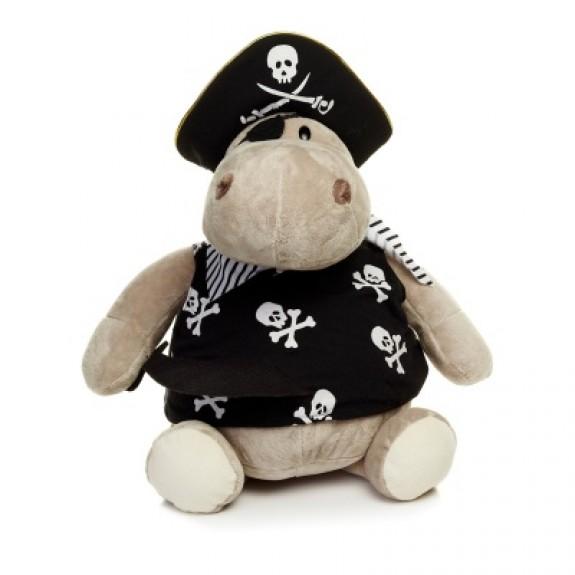 "Мягкая игрушка ""Бегемот Пират"""