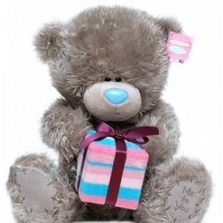 """Мягкая игрушка Медведь """"Me to You"""" держит подарок"""