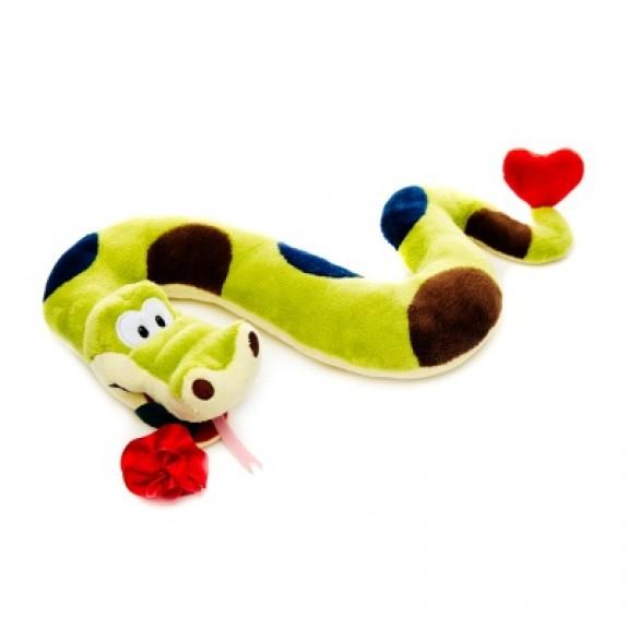 """Мягкая игрушка """"Влюблённый змей"""""""