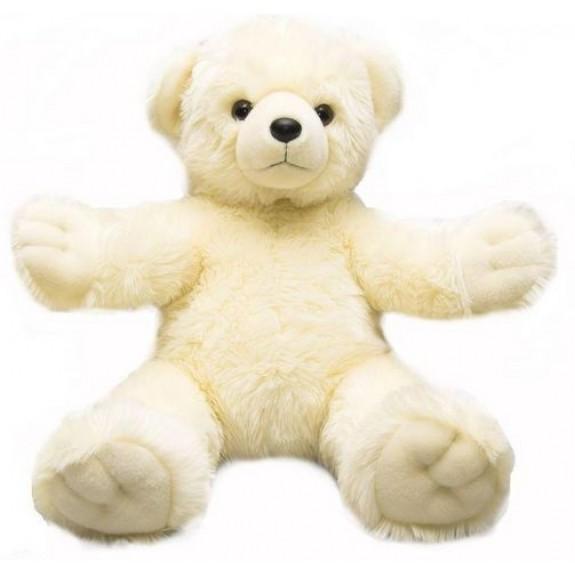 """Мягкая игрушка """"Медведь Обними меня белый"""""""