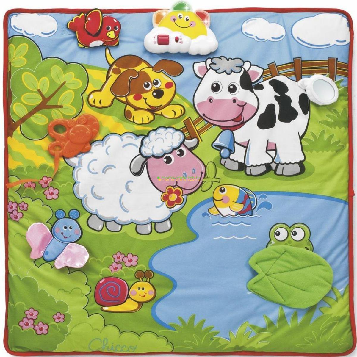 Развивающий детский коврик 0-9 месяцев