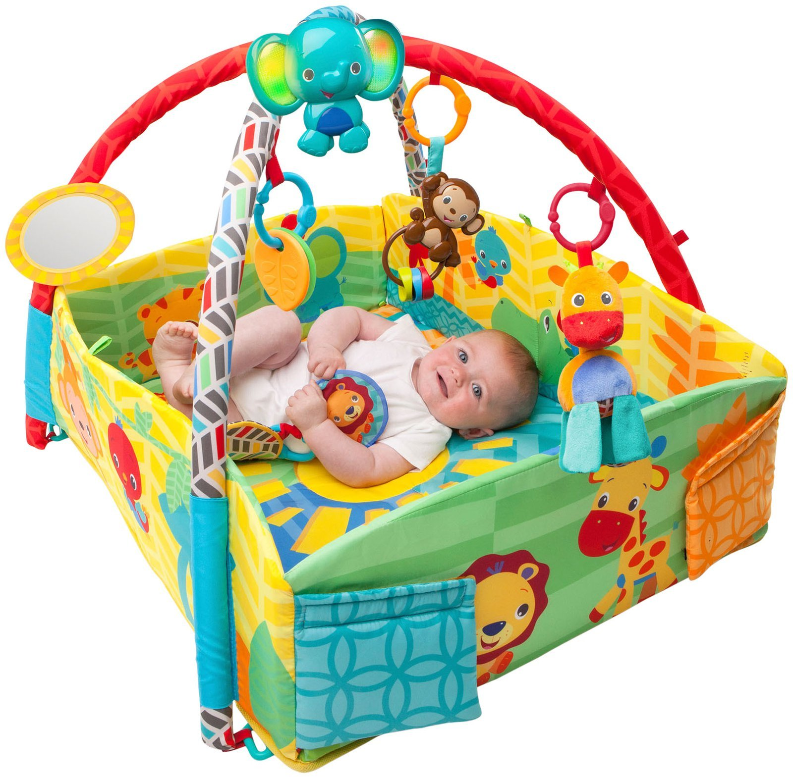 Развивающий детский коврик от полугода